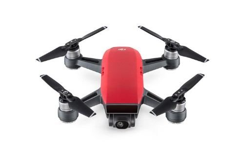 DJI Spark Fly More Combo 4rotors Quadcopter 12MP 1920 x 1080pixels 2970mAh Black, Red camera drone