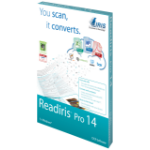 I.R.I.S. Readiris14 Pro, Win, Box