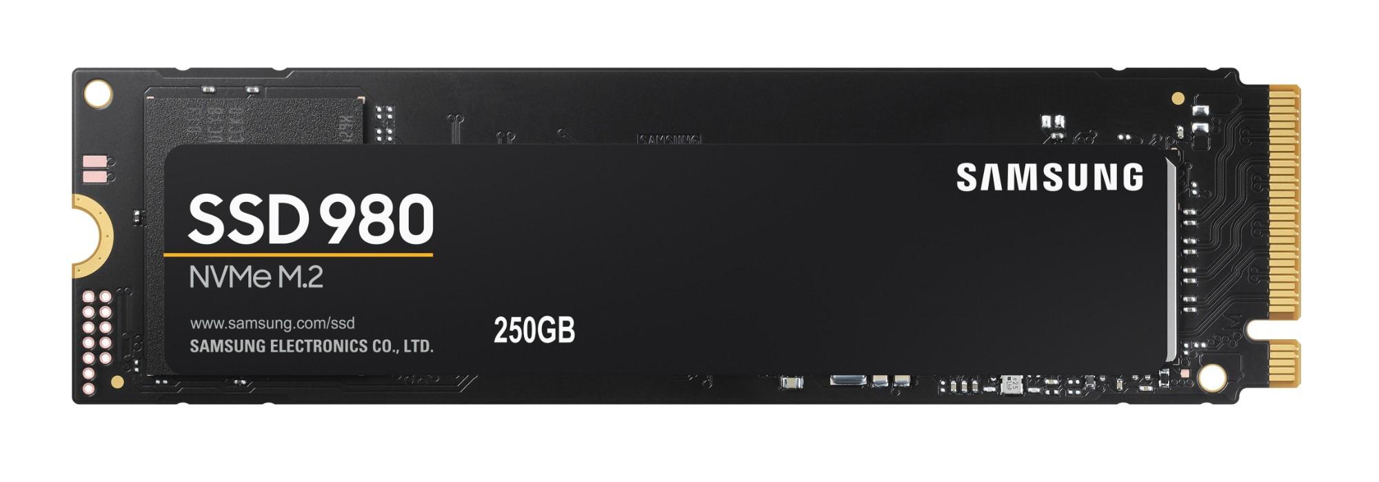 Samsung 980 M.2 250 GB PCI Express 3.0 V-NAND NVMe