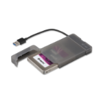 """i-tec MySafe HDD/SSD enclosure 2.5"""" Black"""