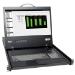 Tripp Lite NetCommander 8-Port Cat5 Rack-Mount Console KVM Switch w/19-in. LCD