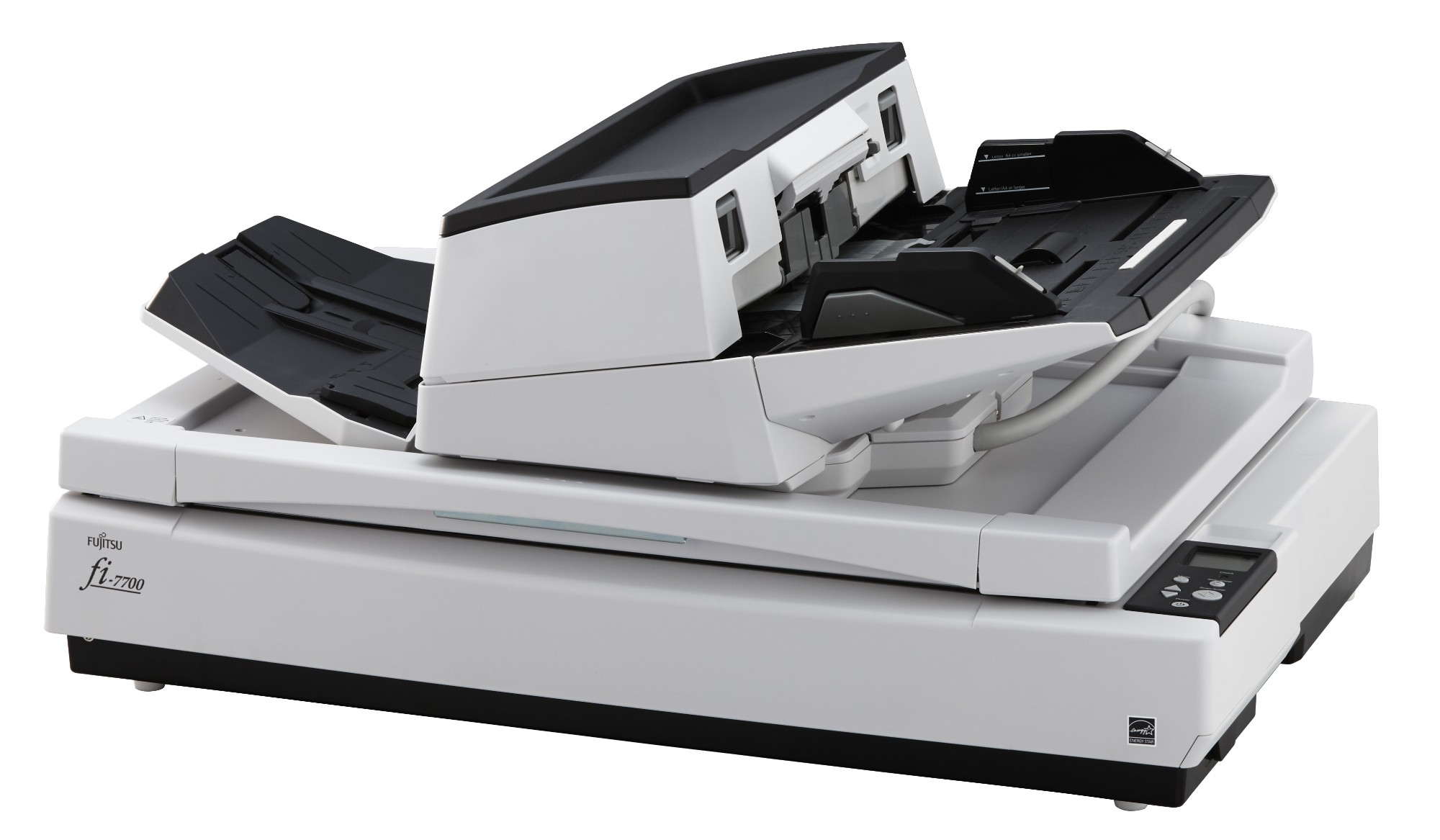 Fujitsu fi-7700S - Document scanner - ARCH B - 600 dpi x 600 dpi - up to 75 ppm (mono) / up to 75 pp
