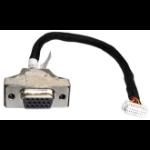 Shuttle PVG01 15-pin Mini D-Sub 2 x 10-pin Black, Stainless steel, White