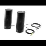 HP USB Business Speakers v2 loudspeaker 2 W Black
