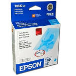 Epson T063220 Cyan Ink Cartridge Cian cartucho de tinta
