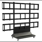 "Peerless DS-VWC655-3X3 55"" Portable flat panel floorstand"