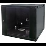 Intellinet 713764 Wall mounted rack 9U Black rack