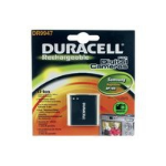 Duracell Digital Camera Battery 3.7v 670mAh 2.5Wh Lithium-Ion (Li-Ion) 670mAh 3.7V rechargeable battery