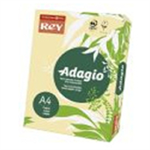 ADAGIO CARD A4 160GM YELLOW PK250