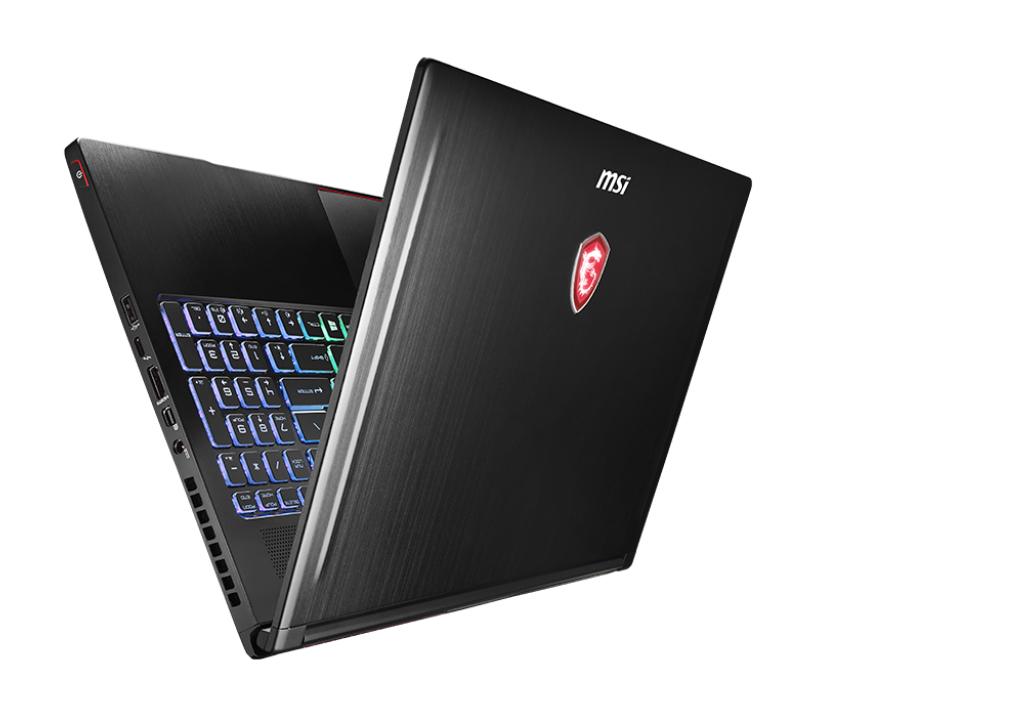 "MSI Gaming GS63VR 7RF(Stealth Pro)-494UK 2.8GHz i7-7700HQ 15.6"" 1920 x 1080pixels Black Notebook"