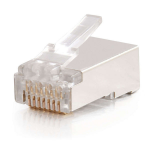 C2G 88126 RJ-45 White wire connector