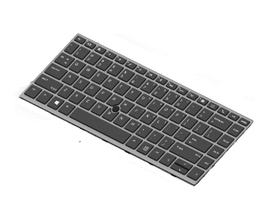 HP L14377-B71 notebook spare part Keyboard