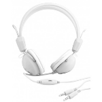 Urban Factory Crazy Binaural Head-band White headset