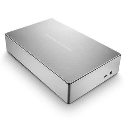 LaCie Porsche Design Desktop external hard drive 5000 GB Silver
