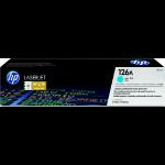 HP 126A 1 stuk(s) Origineel Cyaan