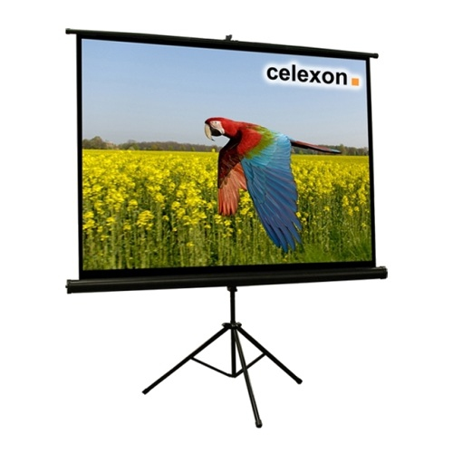 Celexon 1090257 4:3 Black,White projection screen