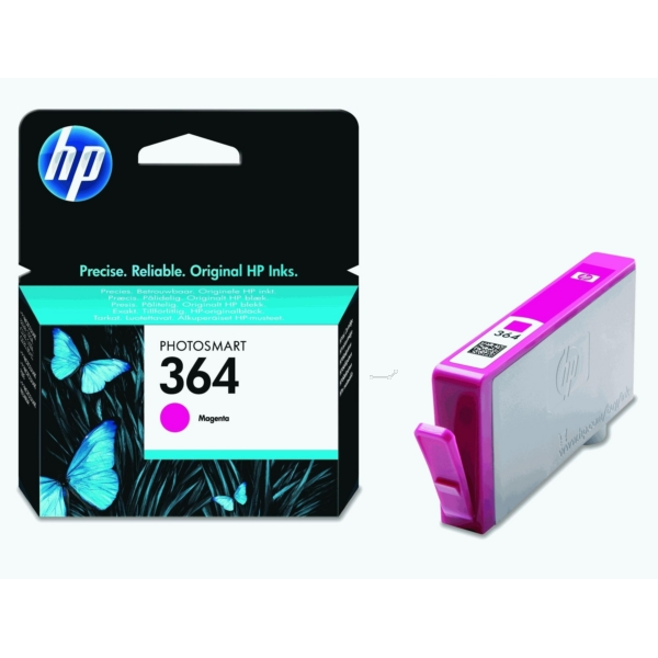 HP CB319EE#301 (364) Ink cartridge magenta, 300 pages, 3ml