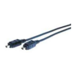 Comprehensive 22.86m, IEEE1394a, m/m 22.86m 4-p 4-p Black Firewire Cable