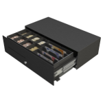 APG Cash Drawer Micro – A Steel Black cash box tray