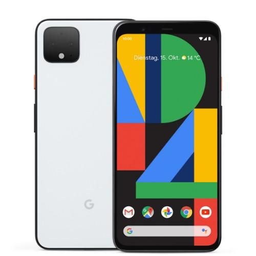 "Google Pixel 4 14.5 cm (5.7"") 6 GB 128 GB White 2800 mAh"