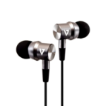 V7 3.5 mm Noise Isolating Stereo Earbuds with In-line Mic, iPad, iPhone, Mp3, iPod, iPad, Tablets, Smartphone, Laptop Computer, Chromebook, PC, Aluminum