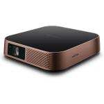 Viewsonic M2 data projector Desktop projector 1200 ANSI lumens LED 1080p (1920x1080) 3D Black, Gold