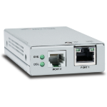Allied Telesis AT-MMC6005-60 Network transmitter & receiver 10,100,1000Mbit/s Silver