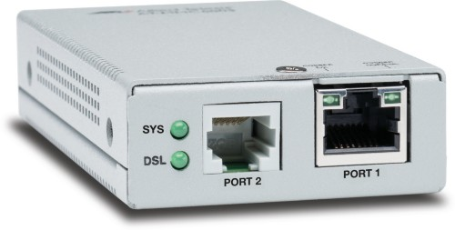 Allied Telesis AT-MMC6005-60 Network transmitter & receiver 10,100,1000 Mbit/s Silver