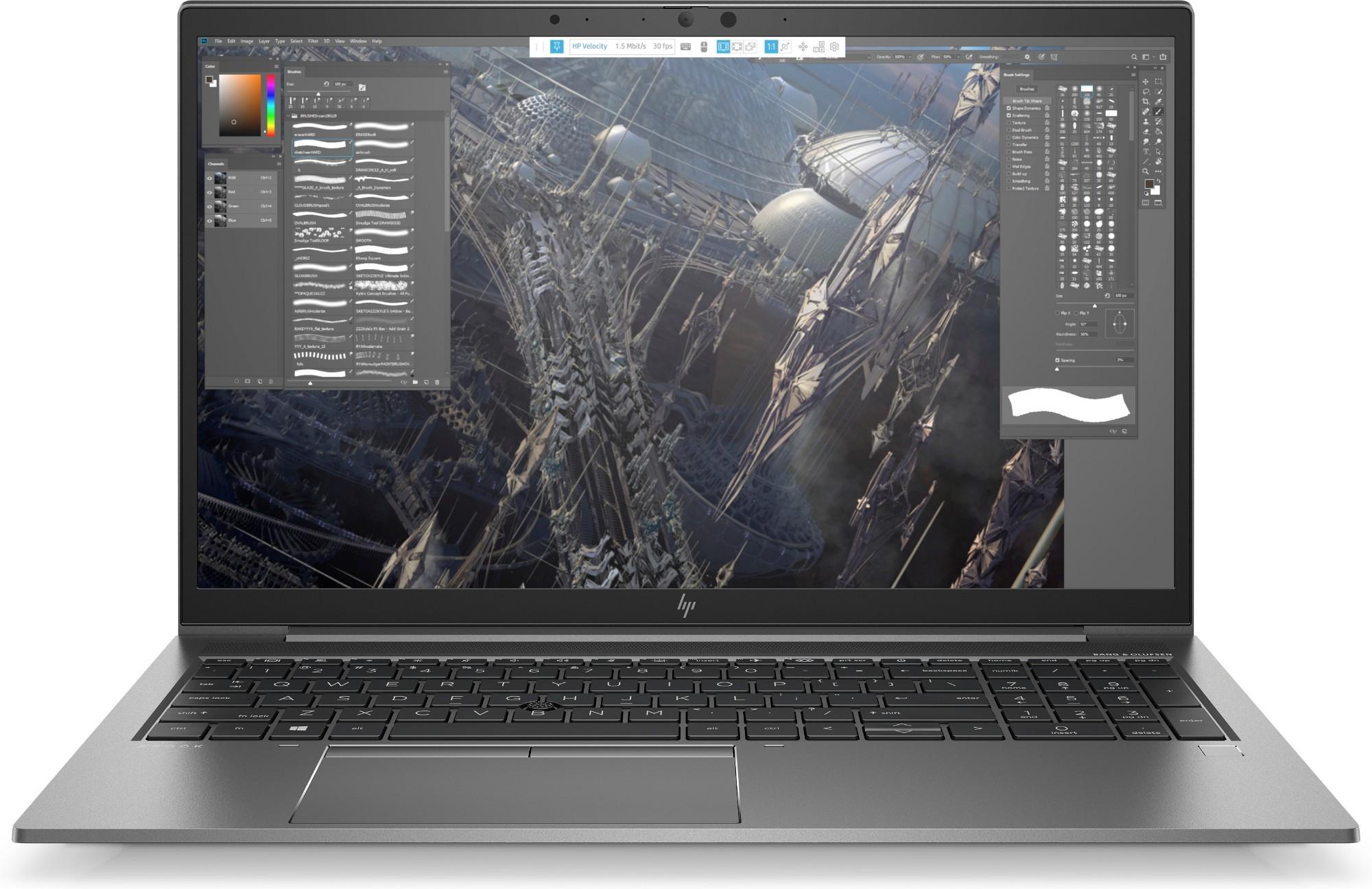 """HP ZBook 15 G7 Estación de trabajo móvil Gris 39,6 cm (15.6"""") 1920 x 1080 Pixeles Pantalla táctil Intel® Core™ i7 de 10ma Generación 16 GB DDR4-SDRAM 512 GB SSD NVIDIA Quadro P520 Wi-Fi 6 (802.11ax) Windows 10 Pro"""