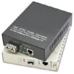 AddOn Networks 1GBS 1 RJ-45 TO 1 SFP PORT POE+ network media converter 1000 Mbit/s Multi-mode,Single-mode