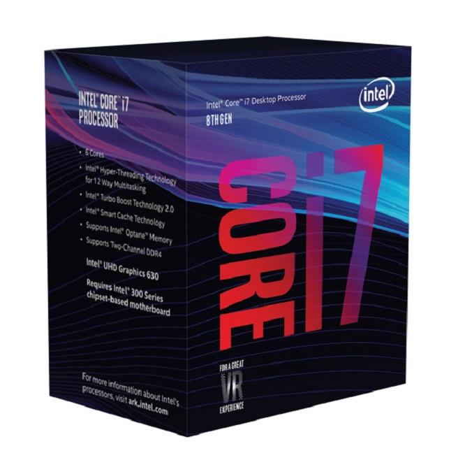 Intel Core i7-8700 procesador 3,2 GHz 12 MB Smart Cache
