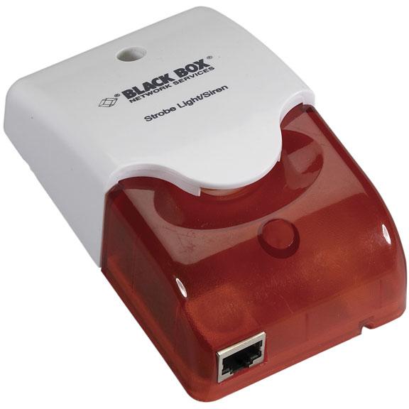 Black Box AlertWerks EME1SS-005 Wired siren Red, White