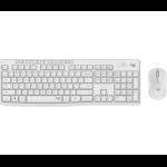 Logitech MK295 keyboard RF Wireless White