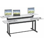 MooreCo 83080M computer desk Black,Grey