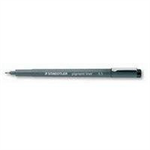 Staedtler pigment liner 308 Black 10pc(s) fineliner