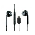 Cables Direct USB3C-STEPBK mobile headset Binaural In-ear Black