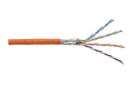 Digitus CAT7 S-FTP 500 m 500m Cat7 SF/UTP (S-FTP) Orange networking cable