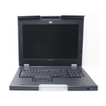 "Hewlett Packard Enterprise 406507-111 rack console 43.9 cm (17.3"") 1600 x 900 pixels Silver"