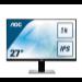 "AOC Pro-line U2777PQU computer monitor 68,6 cm (27"") 3840 x 2160 Pixels 4K Ultra HD LED Flat Mat Zwart"