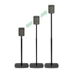 Flexson FLXP1AS1021 Floor Aluminium Black speaker mount