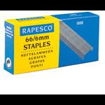Rapesco 66/6mm 66 staples
