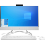"HP 24-df0042n 60.5 cm (23.8"") 1920 x 1080 pixels 10th gen Intel® Core™ i3 4 GB DDR4-SDRAM 128 GB SSD Windows 10 Home Wi-Fi 5 (802.11ac) All-in-One PC White"