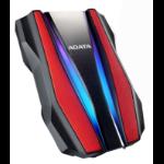 ADATA HD770G external hard drive 1000 GB Black, Red