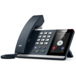 Yealink MP54 Microsoft Teams Android 9.0 Phone, 4' Colour Touch Screen, HD Audio, Dual Gig Ports, Hybrid Mod