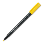 Staedtler 318-1 permanent marker Yellow 1 pc(s)