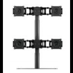 "DoubleSight DS-430STA 30"" Black flat panel desk mount"