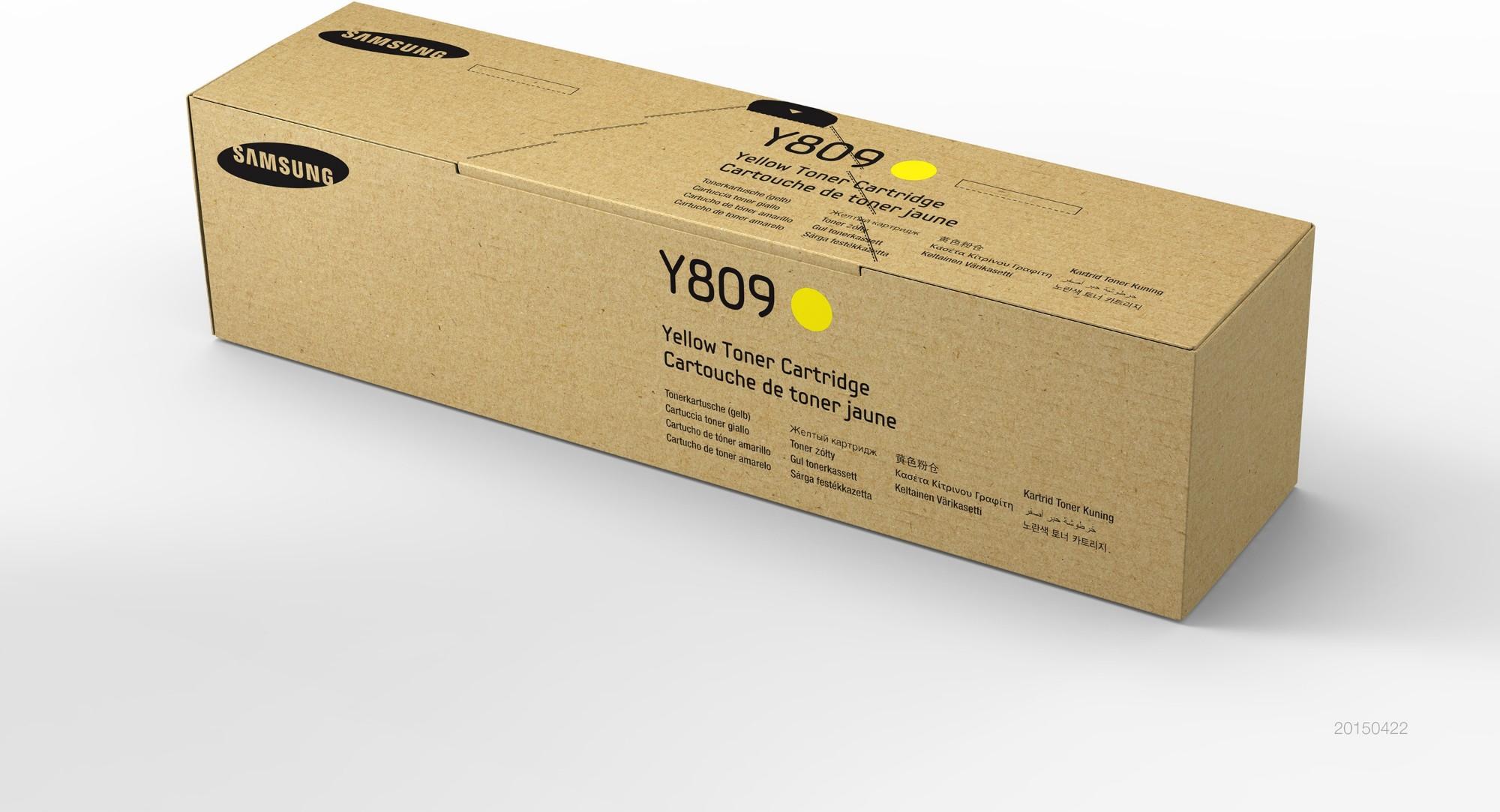 Samsung CLT-Y809S Original Amarillo 1 pieza(s)