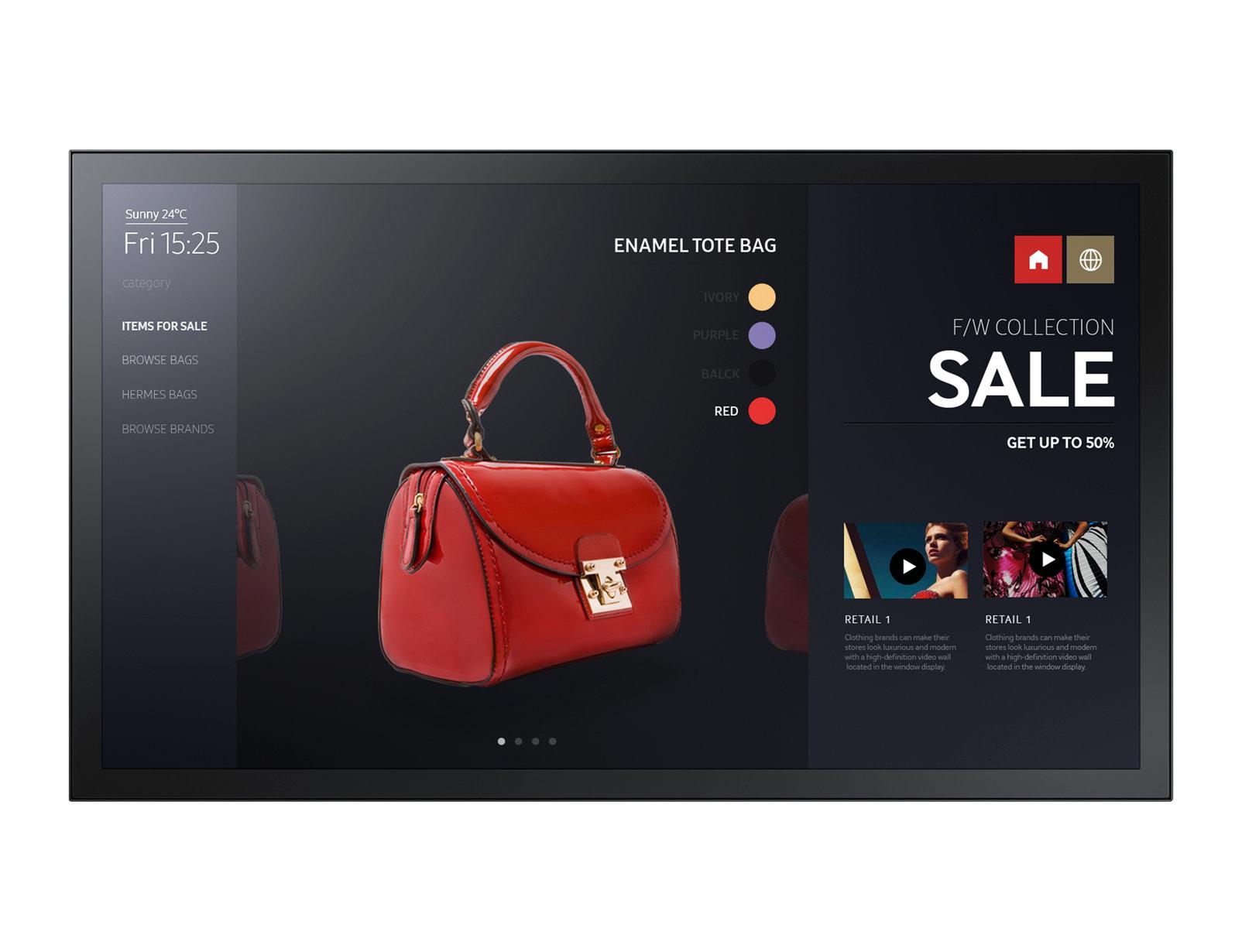 """Samsung PM43F-BC 109,2 cm (43"""") LED Full HD Pantalla táctil Panel plano interactivo Negro"""
