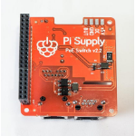Raspberry Pi 8977141 development board accessory PoE switch