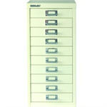 Bisley FF BISLEY NON LOCK 10 MULTI DRAWER WHITE